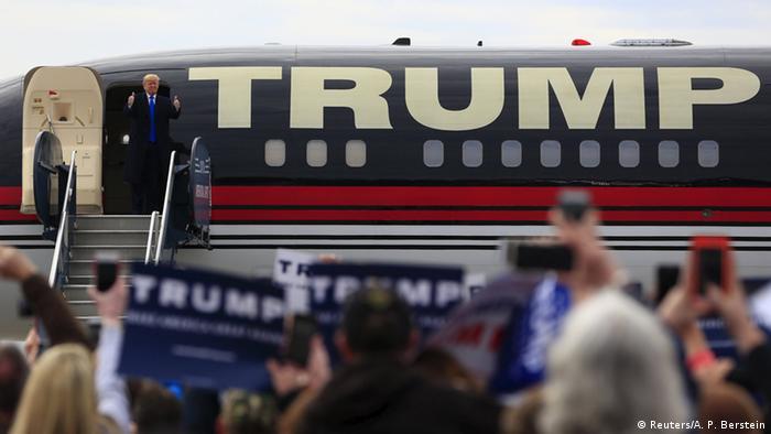 USA Ohio Republikaner Vorwahlen Donald Trump