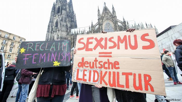 Köln Demonstration gegen Sexismus und für Feminismus