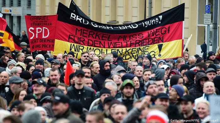 Berlin Demonstration Neonazis Regierungsviertel