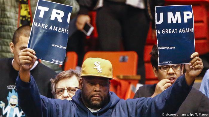 USA Illinois Vorwahlen Protest Gegner Donald Trump