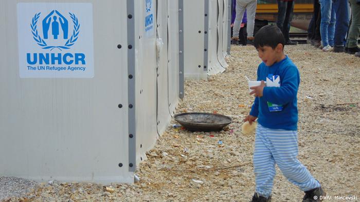 Mazedonien Flüchtlingslager in Tabanovce