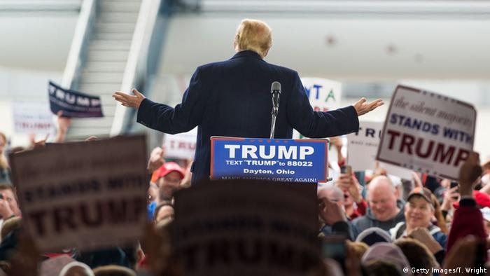 Präsidentschaftskandidat Donald Trump in Ohio - Foto: Ty Wright (Getty Images)