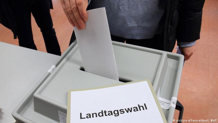 Deutschland Landtagswahl Sachsen-Anhalt
