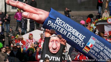 Nachgeholter Rosenmontagszug Düsseldorf (Reuters/I. Fassbender)