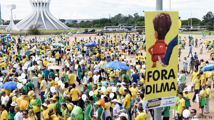 Brasilien Proteste gegen Dilma Rousseff und Lula da Silva