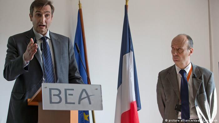 French investigators Arnaud Desjardin and Remi Jouty