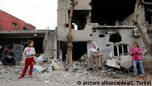 Cizre, tras un bombardeo de las fuerzas turcas el 3 de marzo de 2016.
