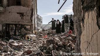 Türkei Zerstörung nach Kämpfen in Cizre