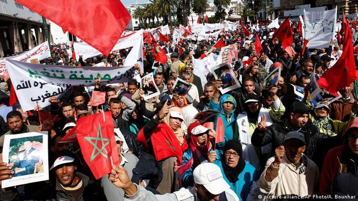 Marokko Proteste gegen Ban Ki-moon