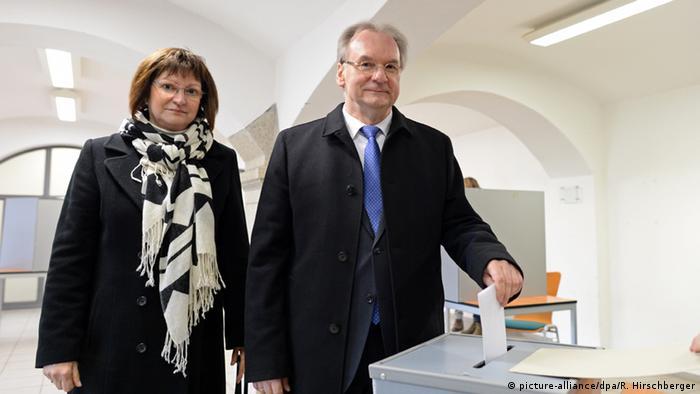 Primul ministru al landului Saxonia-Anhaltină, Reiner Haseloff