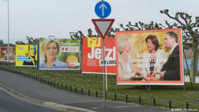 Deutschland Landtagswahl Rheinland-Pfalz