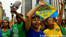 Brasilien Proteste gegen Dilma Rousseff in Sao Paulo