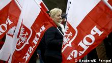 Polen Proteste in Warschau