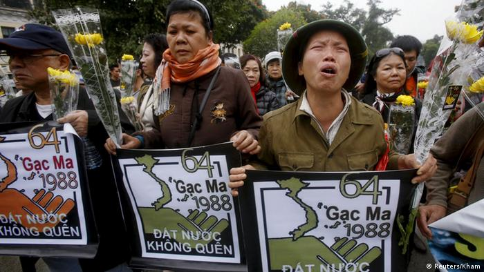 Vietnam Anti-China Proteste in Hanoi (Reuters/Kham)