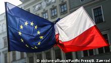 Polen EU Flaggen