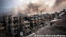 Syrien Gefecht in Aleppo