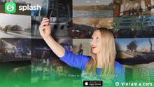 Screenshot Viorama Splash 360 Grad App