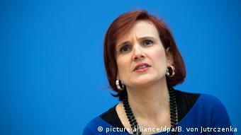 Deutschland Katja Kipping Die Linke PK zur Landtagswahlen