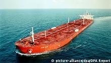 Öltanker Jahre Viking auf hoher See
