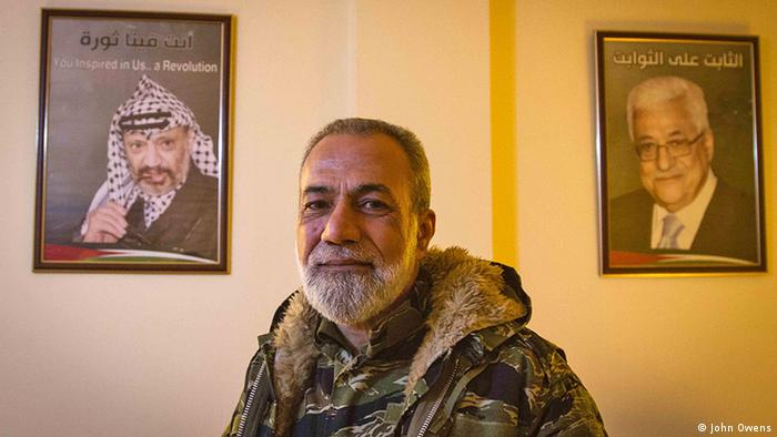 Muniq Maqdah, a leading commander with Fatah in Ain el Helweh