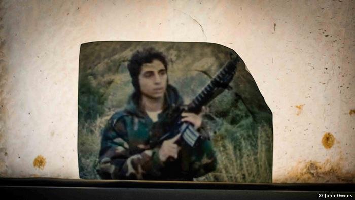 A picture of Khaled Rahhal, who joined Fatah at age 12