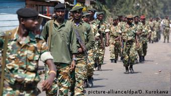Burundi Soldaten