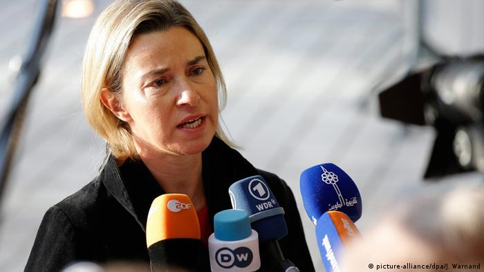 Mogherini: The action we are seeking is achievable with will and determination.