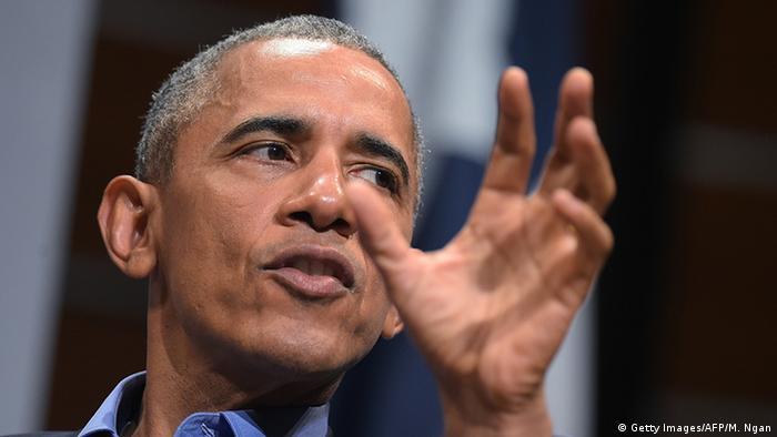Austin US-Präsident Barack Obama