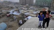 Afghanistan Flüchtlinge in einem Camp bei Kabul