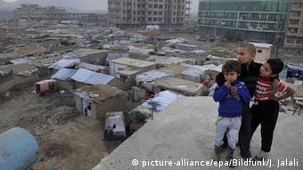Καταυλισμός προσφύγων στη Καμπούλ