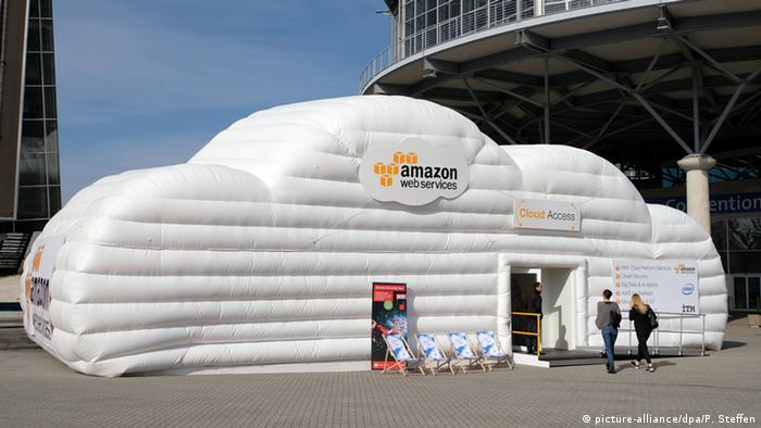 Amazon stand at CeBIT