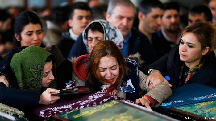Türkei Trauer nach dem Anschlag in Ankara