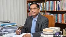 Titel: Prof. Mustafizur Rahman Description: Professor Mustafizur Rahman is currently the Executive Director of the Centre for Policy Dialogue (CPD) in Bangladesh. Keywords: Bangladesh, Mustafizur Rahman, Dhaka, economist, economy, CPD Copyright: Mustafizur Rahman
