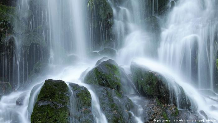 Водопад в Шварцвальде около города Тодтнау
