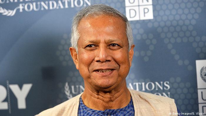New York Social Good Summit Dr. Muhammad Yunus (Getty Images/S. Vlasic)