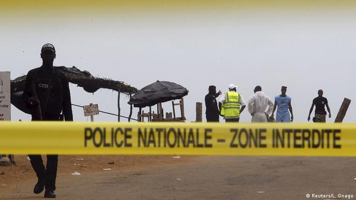 Elfenbeinküste Grand Bassam nach dem Anschlag