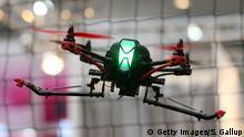 Deutschland Hannover CeBIT Drohnen
