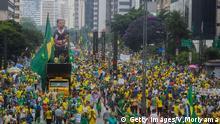 Sao Paulo Brasilien Protest Dilma Rousseff
