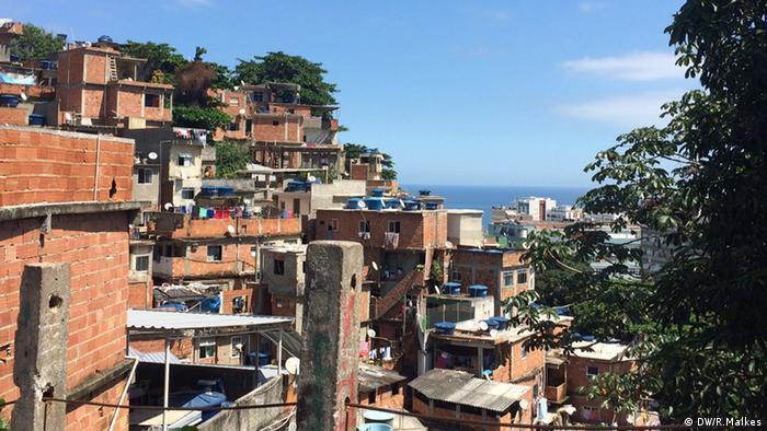 Vista da comunidade Pavão-Pavãozinho: crise política divide a comunidade de cerca de 20 mil pessoas