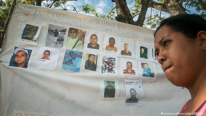 Venezuela 28 vermisste Bergarbeiter Demonstration