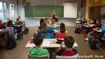 Урок в одной из школ в земле Баден-Вюртемберг