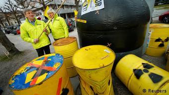 Акция немецких противников ядерной энергетики
