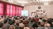 Christian Ganzer, Wissenschaftler, Autor des Buches über Brest im Zweiten Weltkrieg Buchpräsentation in Brest, Märt 2016 © DW/A. Petrowitsch