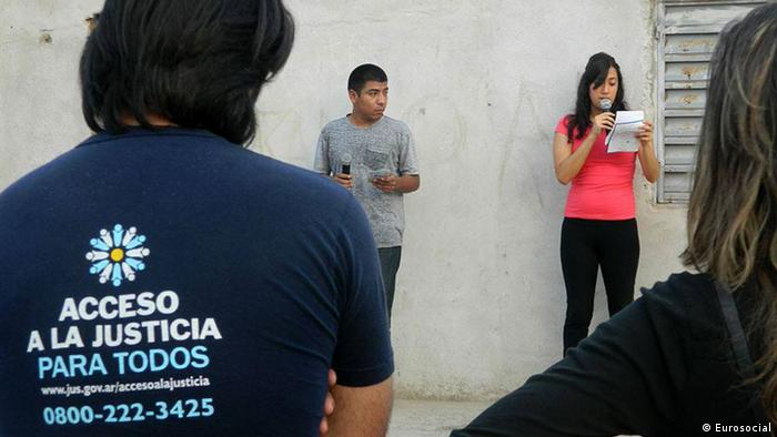 Argentinien Projekte Eurosocial