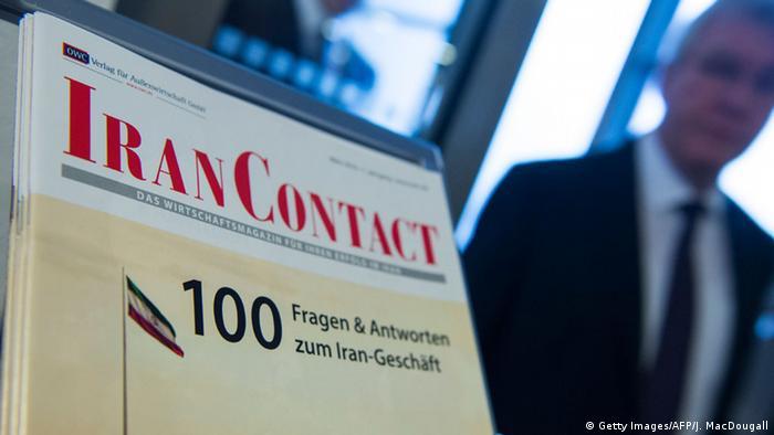 Deutschland Investition im Iran