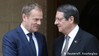Συνάντηση Αναστασιάδη-Τουσκ πριν από τη συνεδρίαση στις Βρυξέλλες