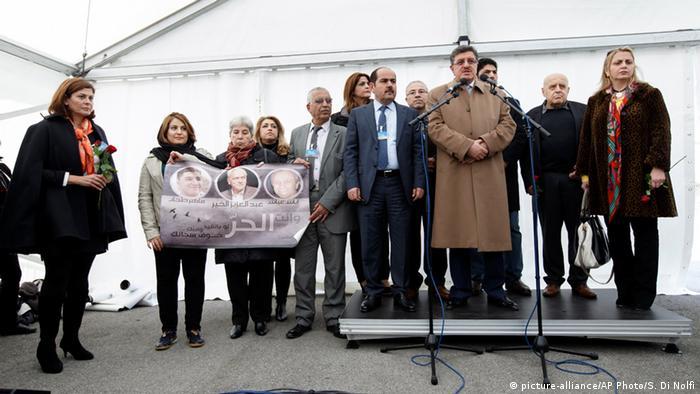 Schweiz Genf Syrien Friedensgespräche