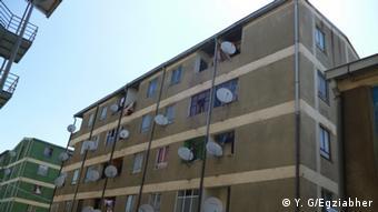Äthiopien Sozialwohnungen in Addis Abeba