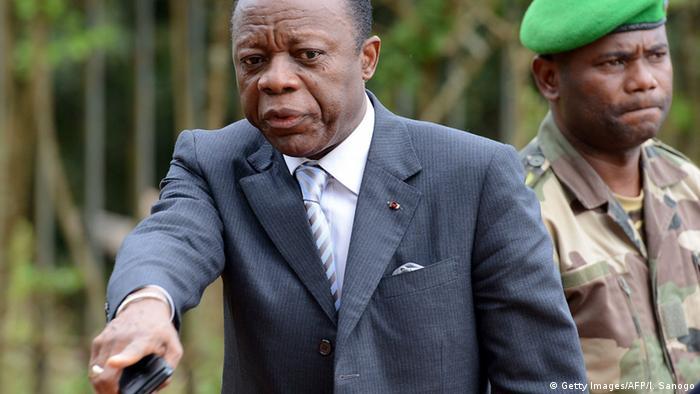 Kongo General Jean-Marie Michel Mokoko