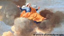 Die Himmelfahrt der heiligen Rita von Cascia von Nicolas Poussin